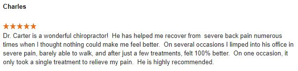 Chiropractic Peoria IL Review 1